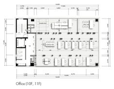 VOV Building by VOID planning Open Office Design, Office Interior Design, Office Interiors, Office Floor Plan, Floor Plan Layout, Creative Office Space, Smart Office, Office Building Plans, Restaurant Floor Plan