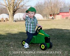1 year pictures ~ Farmer boy