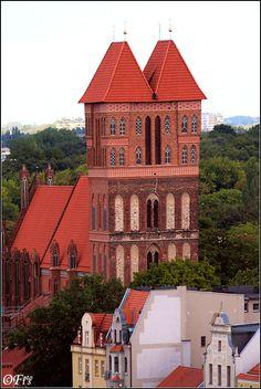 Church of St. James in Torun, Poland