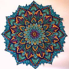 246 Meilleures Images Du Tableau Mandalas En Couleurs Colors