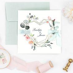 Faire-part chic 2020 : découvrez leur nouvelle collection Chic Wedding, Wedding Signs, Wedding Blog, Wedding Events, Wedding Stuff, Faire Part Chic, Wedding Stationery, Wedding Invitations, Fancy