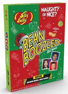 Der Adventskalender Jelly Belly Bean Boozled ist gefüllt mit verrückten Sorten