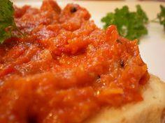 Zacusca - Retete Culinare - Bucataresele Vesele Romanian Food, Romanian Recipes, Risotto, Mashed Potatoes, Macaroni And Cheese, Food And Drink, Vegetarian, Vegan, Ethnic Recipes