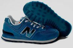 Joes New Balance ML574SNT Royalblue White Black Mens Shoes