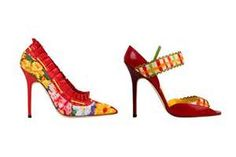 Manolo Blahnik Festive Shoes