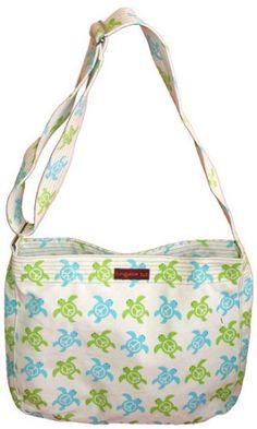 Amazon.com: Bungalow360 Lucille Sea Turtle Vegan Messenger Bag: Shoes