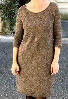 Платье вязаное по кругу спицами