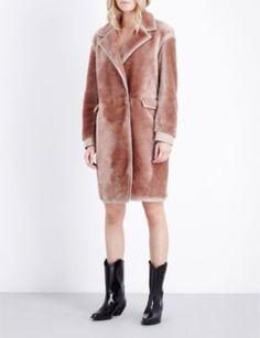 ALLSAINTS LIMITED Jale shearling coat