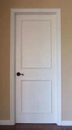 Two Panel Door Moulding Kit~ Get the custom, high-end look in your home with Luxe Architectural