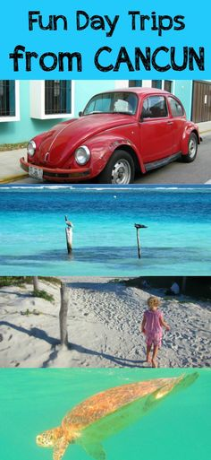 5 fun alternative day trips from Cancun Mexico