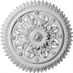 Ekena Millwork 21-5/8 in. York Ceiling Medallion
