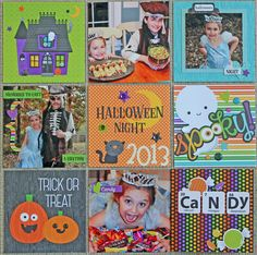 Pocket page - Halloween Night 2013 - Scrapbook.com