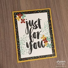 Botanicals for You by Stampin' Up!