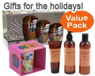 This package includes all your holiday essentials, such as knitted hats, cozy fleece blankets, and scarves to keep you warm; as well as women's watches, glassware, scented candles and perfumes. http://www.4sgm.com/is-bin/INTERSHOP.enfinity/WFS/4sgm-Storefront-Site/en_US/-/USD/ViewProductDetail-StartRedirected;pgid=8uKCiKaqQORSR00pmU_Mlavu0000-cH4gT9L;sid=q7mNVZeiXLONVcSCOAiCV5eo-ivJm8Yw73c=?CatalogCategoryID=TOjAwGQTxf4AAAELMFM0E4U1&ProductUUID=RegKAAIKik0AAAEzHf90m3_p