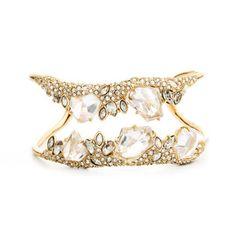 Jagged Diamond Cluster Cuff