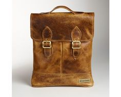 Coach Brown Leather Backpack | Mens Brown Leather Backpack