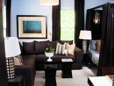 1000 images about living room ideas on pinterest accent - Dark furniture in small room ...