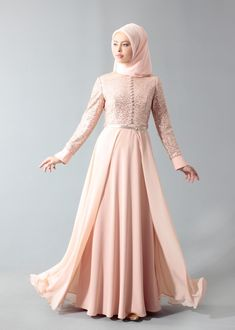 Swans Style is the top online fashion store for women. Shop sexy club dresses, jeans, shoes, bodysuits, skirts and more. Dress Brokat Muslim, Kebaya Muslim, Muslim Dress, Kebaya Modern Hijab, Dress Brokat Modern, Islamic Fashion, Muslim Fashion, Modest Fashion, Fashion Dresses