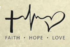 faith hope love tattoo's - Google Search
