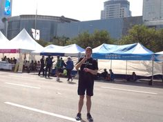 just after skipping the seoul marathon with a jump rope in 4:02:11. legs numb with pain, arms broken, but triumphant. (October 2014)