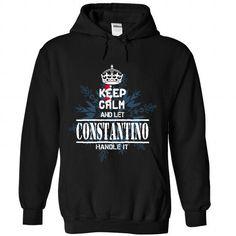 I Love 9 CONSTANTINO Keep Calm T shirts