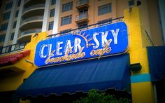 Clear Sky Beachside Cafe // A wonderful cafe in Clearwater Beach, Fla.   # Pin++ for Pinterest #