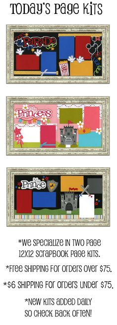 Scrapbook Page Kits