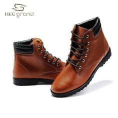 d2dc97208c 2014 Hot Sale Men s Fashion Solid Korean Style PU Leather Boots Male Casual  Pointed Toe Comfortable Boots
