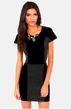 Lucca Couture Love Blockdown Black Velvet