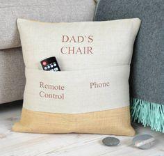 Personalised Pocket Cushion