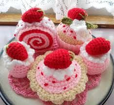 Risultati immagini per crochet cupcake