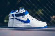 new concept 96903 8d634 A Closer Look at the Nike Air Force 1 Hi Retro QS Summit White Game