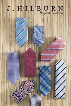 j hilburn ads | Gorgeous ties, 2013 Spring Collection