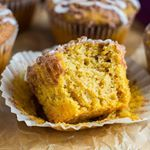 In case you missed these  Pumpkin Streusel Muffins on the blogDirect recipe link in my profile or here  httpmarshasbakingaddictioncompumpkinstreuselmuffins
