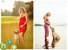 Maternity w/ your dog : )  HBT photo blog