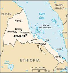 エリトリアの地図 ◆エリトリア - Wikipedia https://ja.wikipedia.org/wiki/%E3%82%A8%E3%83%AA%E3%83%88%E3%83%AA%E3%82%A2 #Eritrea