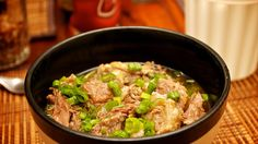 A bowl of yakamein, a beef noodle soup that is known as 'old sober' for it's supposed hangover-healing powers. Taste of New Orleans : Creole Food and Dishes in New Orleans : Travel Channel