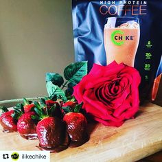 Perfect #Valentines gift for the fit person in your life! On-sale now @nuhealthsupps and NuHealthLifestyle.com.  #Repost Cafe mocha covered strawberries for your valentine! 💋🍓🍫☕️ melt 1tbsp of coconut oil and mix with 1 scoop Mocha flavored iced protein coffee. Add warm water slowly until it forms a batter-like consistency. Dip fresh strawberries, place on a sheet of wax paper on a cookie sheet and freeze for 30 mins until hardened.