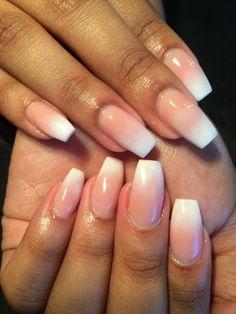 Ombré nails!  -Wtfimkels