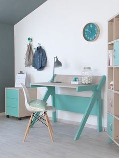 #γραφείο#ΝΟΑ Kids Corner Desk, Office Desk, Bedroom, Furniture, Home Decor, Desk Office, Decoration Home, Desk, Room Decor