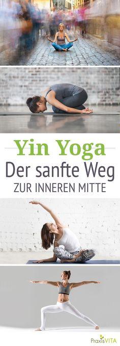 Beim Yin Yoga werden traditionelle Asanas (Übungen) bis zu fünf Minuten lang gehalten. So lernen Sie loszulassen und entspannen Körper und Geist besonders tief.