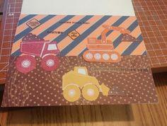 Inside to little boy card