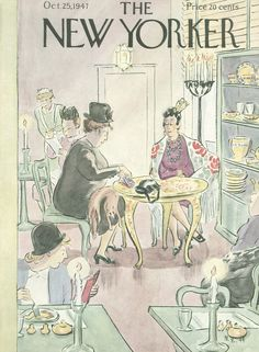 The New Yorker - Saturday, October 25, 1947 - Issue # 1184 - Vol. 23 - N° 36 - Cover by : Helen E. Hokinson