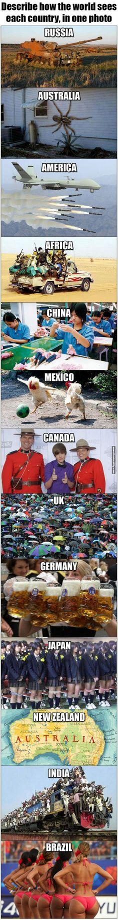 Y entonces que diferencias hay entre países