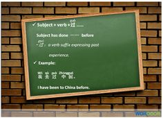 Chinese Grammar Points - Where have you been to in China?