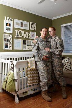 Lesbian army women