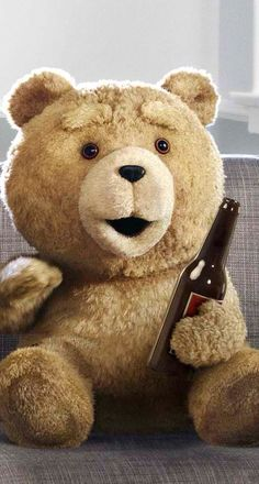 Ted 2 Ted Is Coming Again Poster New Maxi Size 36 x 24 Inch