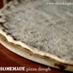 Healthy Homemade Pizza Dough Recipe