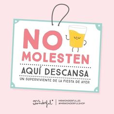 No molesten a supervivientes #mrwonderful