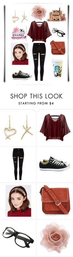 """Saturday's Pleasure"" by miracle-child-1 ❤ liked on Polyvore featuring Stephen Webster, Traffic People, River Island, Converse, Wet Seal, Étoile Isabel Marant, Oliver Gal Artist Co. and Accessorize"